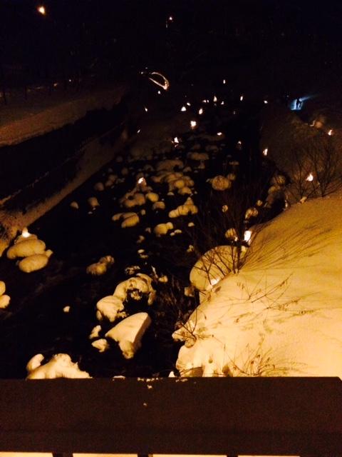 小樽 雪あかり 朝里1