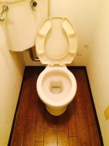 札幌市 トイレ清掃後