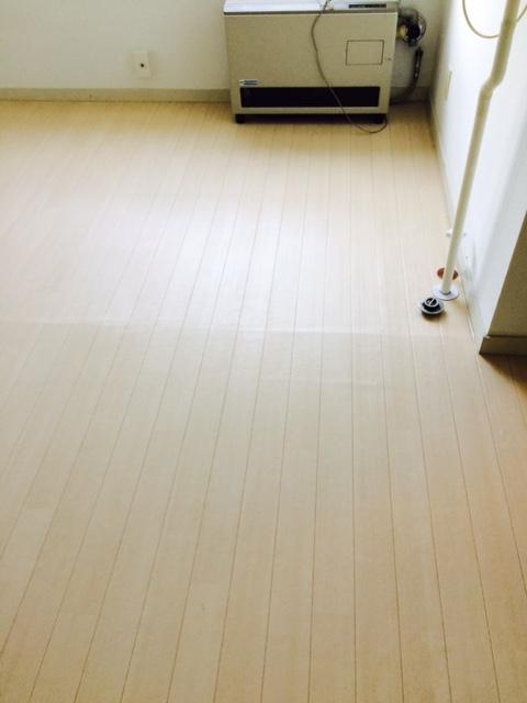 札幌市東区 汚部屋 床 掃除後
