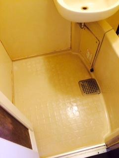 名寄市 ゴミ部屋 清掃後 浴槽1