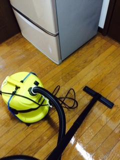 札幌市北区 ワックス バキューム掃除機