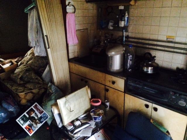 札幌市白石区 孤立死 台所作業前