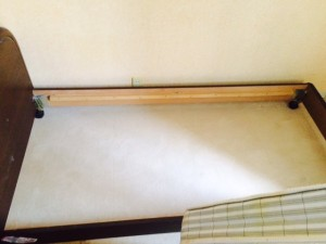 札幌市北区 ゴミ部屋 ベッド下作業後