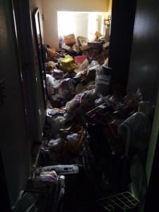 札幌市北区 ゴミ部屋 作業前