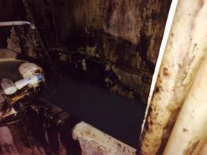 札幌市北区 ゴミ部屋 風呂 清掃前1