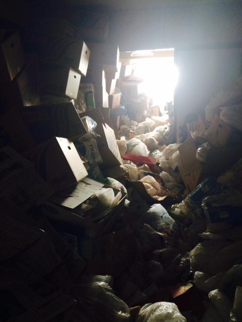 札幌市豊平区 ゴミ部屋での孤独死現場