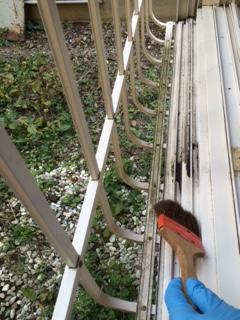 札幌市西区 窓ガラス清掃2