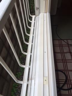 札幌市西区 窓ガラス清掃6
