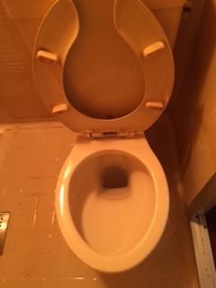 札幌市東区 孤独死現場 トイレ掃除後