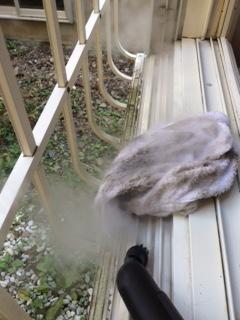札幌市西区 窓ガラス清掃4