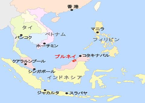 map_1 ブルネイ