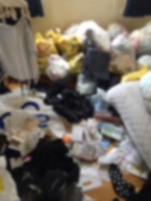 夜逃げ ゴミ部屋