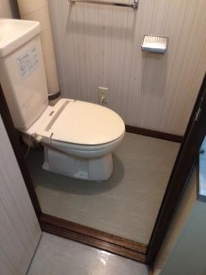 岩見沢市 トイレ 清掃後