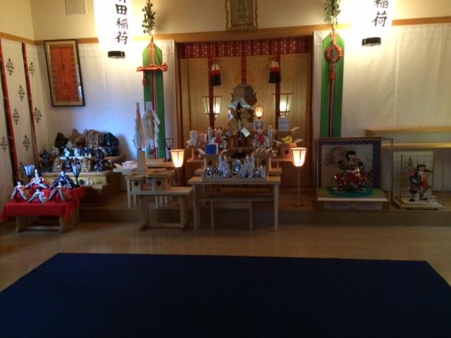 清田稲荷神社 人形供養