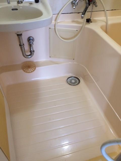 汚風呂 掃除後