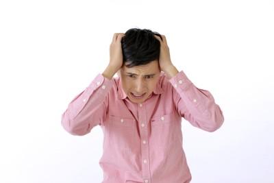 灯油のニオイで頭痛 イメージ