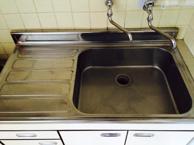 札幌市東区 汚部屋 掃除後 台所