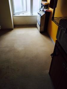 札幌市北区 ゴミ部屋 床 清掃後