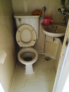 札幌市北区 ゴミ部屋 トイレ清掃後