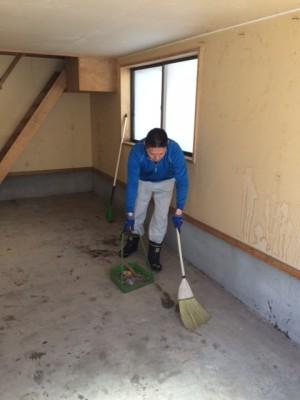 札幌市東区 生前整理 車庫