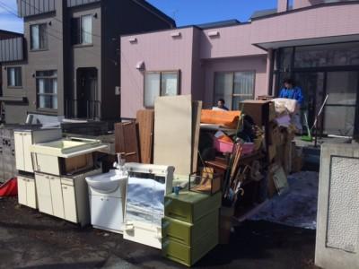 札幌市東区 生前整理