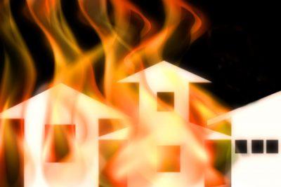 ゴミ屋敷と火災