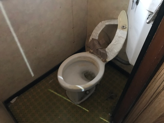 札幌市西区 生前整理 トイレ清掃前 - 札幌特殊清掃物語~「明朗 ...