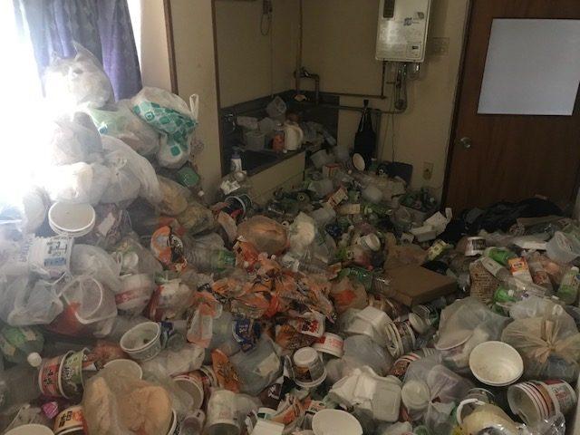 ゴミ屋敷の火災リスク
