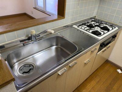 キッチン清掃後