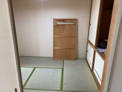 お片付け後の和室