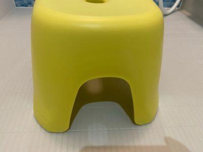 部分的に防カビ施工したお風呂の椅子
