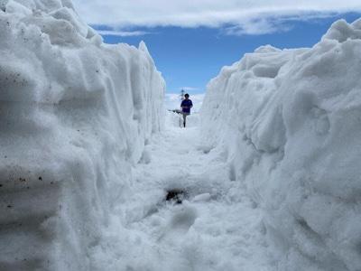 墓地の除雪 江別市