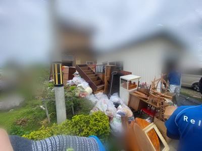 家財道具の搬出 栗山町