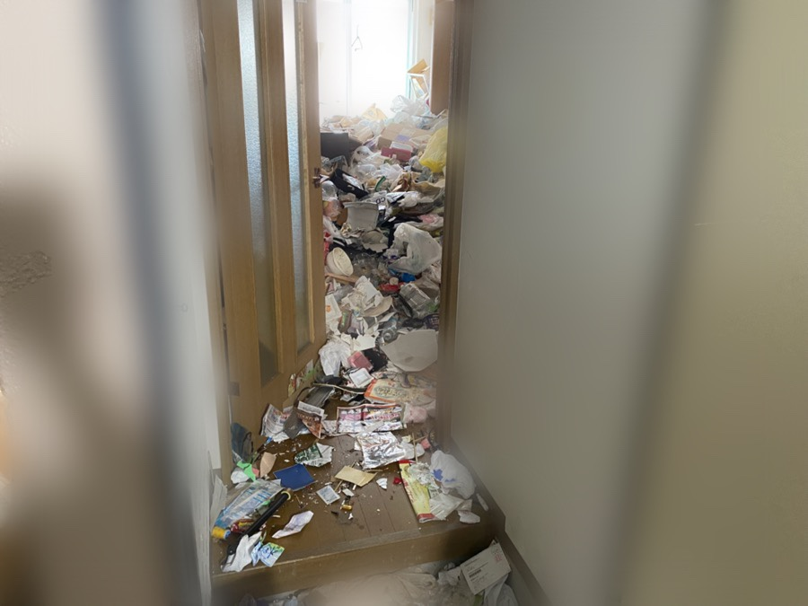 ゴミ部屋清掃 札幌市