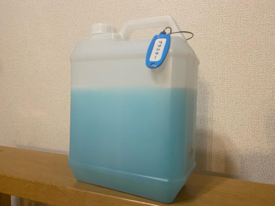 素敵なガラス用洗剤