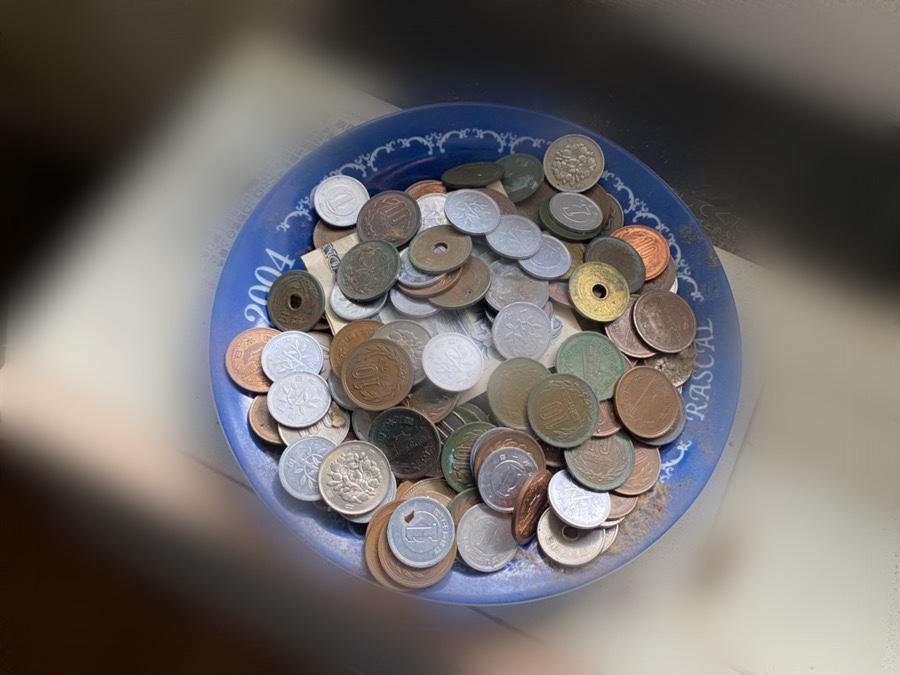 作業中に発見した現金
